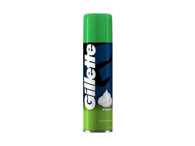 Пена для бритья Gillette Lemon Lime 200 мл (3014260228859/3014260309794)