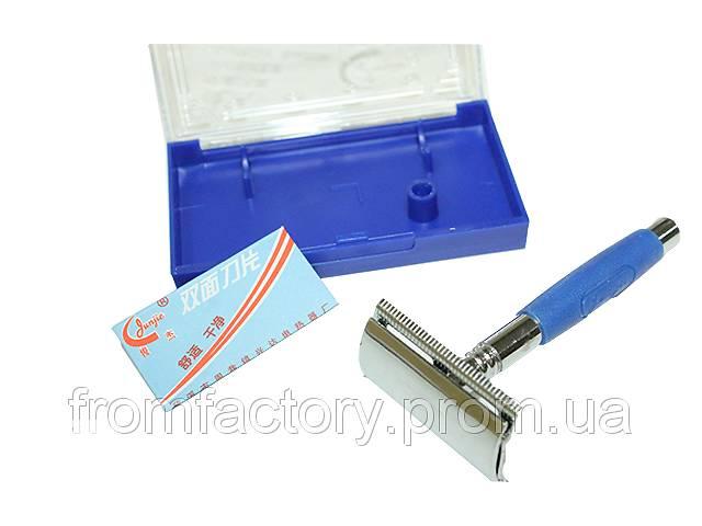 бу Станок для бритья металлический с резиновой ручкой JJ-(626) в Харкові