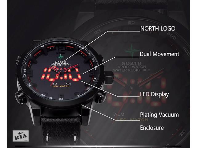 Круті спортивні чоловічі годинники OHSEN North- объявление о продаже  в Кривому Розі