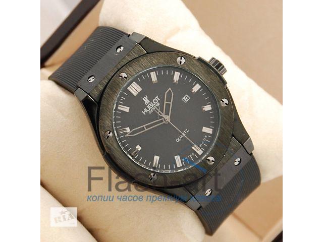 купить бу Часы Hublot Big Bang AA quartz all Black (код 1252) в Тернополі 30c16110a418c