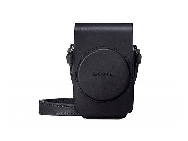 купить бу Чехол Sony LCJ-RXG Black для RX100 I - VII (LCSRXGB.SYH) в Києві