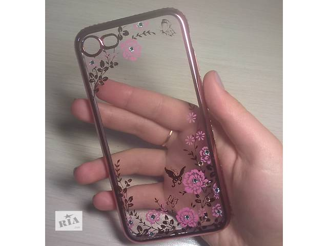 бу Чехол для/на айфон iPhone 7 TPU Rose Gold Pink в Киеве