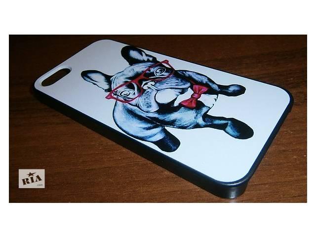 Чехол пёс в очках для iphone 5 / 5S/ 5SE- объявление о продаже  в Харькове