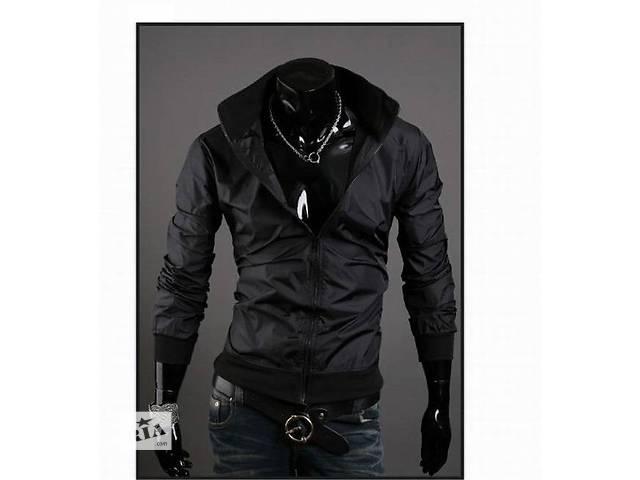 Черная ветровка из плащевой ткани- объявление о продаже  в Черкассах