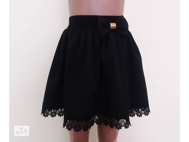 купить бу Детская школьная юбка на резинке «Ромашка», модель № 40 в Хмельницком