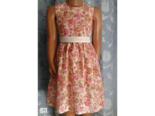 Дитяче літнє плаття без підкладки з пояском d32b7a7d3282e