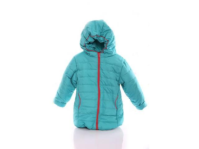 Куртка Евро для девочки бирюзовая с коралловым- объявление о продаже  в Львове
