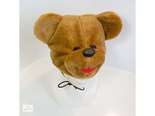 Маскарадная шапочка Kronos Toys Медведь Коричневый (zol_237-1)- объявление о продаже  в Киеве