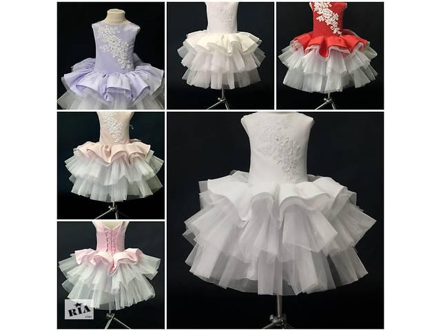 купить бу Нарядное бальное детское платье Бетти в Киеве