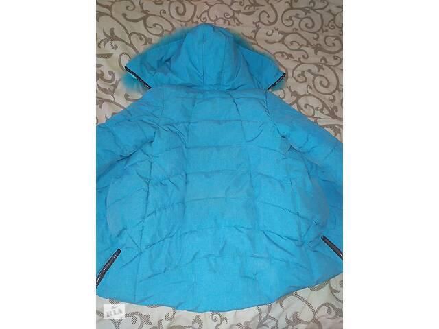 бу Тёплая куртка с шапкой)р.152 в Николаеве