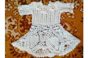 б/у Детские вязаные платья