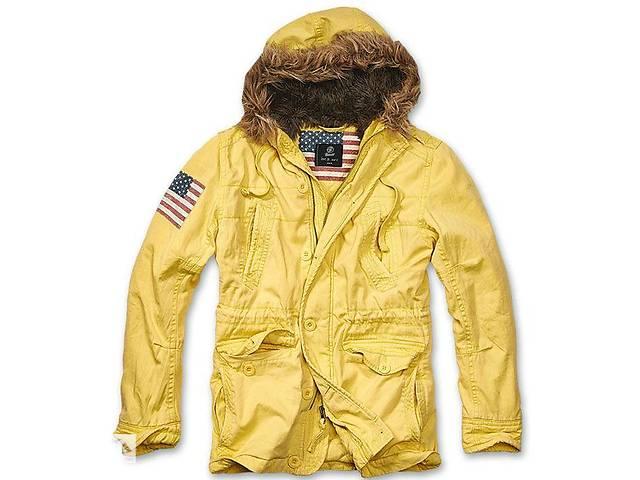 Зимняя куртка-парка USA Explorer BRANDIT желтая, XXL- объявление о продаже  в Львові