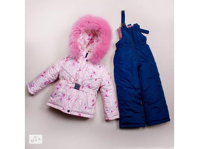 купить бу Зимняя курточка и полукомбинезон на рост 92,98,104,110 в Харькове