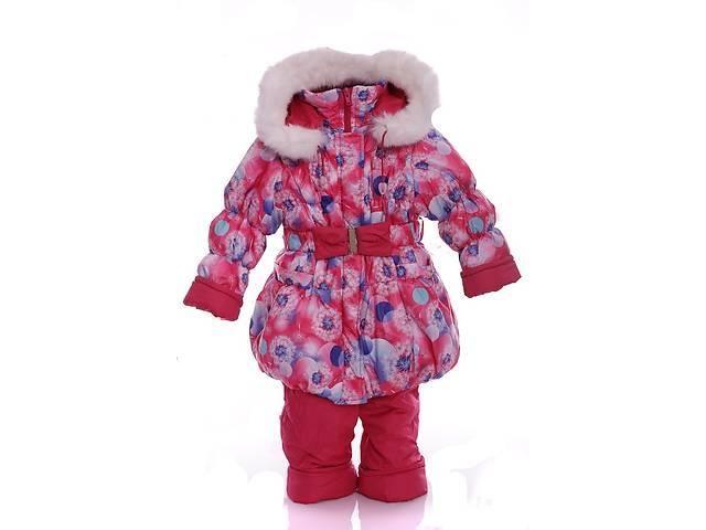 Зимний костюм для девочки Колокольчик с рисунком розовый одуванчик- объявление о продаже  в Одессе