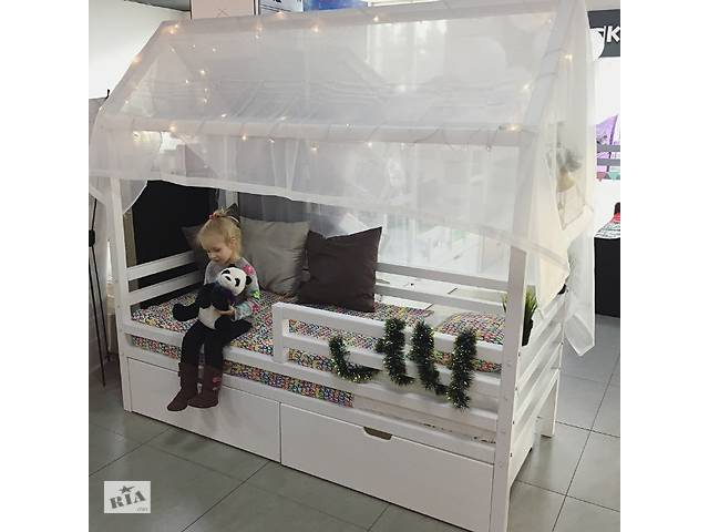 АКЦІЯ ! новинка кровать - Домик из Смереки Карпатской для ваших деток- объявление о продаже  в Киеве