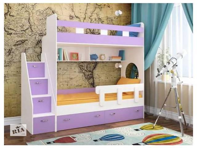 купить бу Детская кровать. Двухъярусная кровать. Двухярусная кровать. Кровать чердак в Киеве