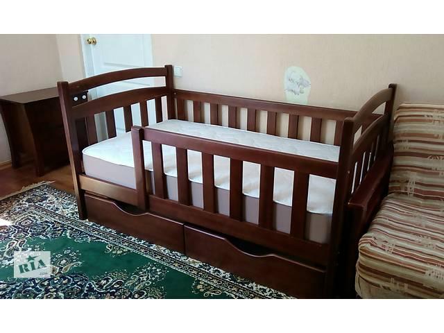 Детская кровать Карина с натурального дерева ольхи!