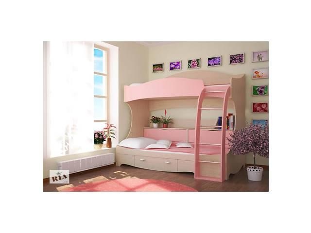 продам Двухъярусная кровать Принцесса  бу в Львове
