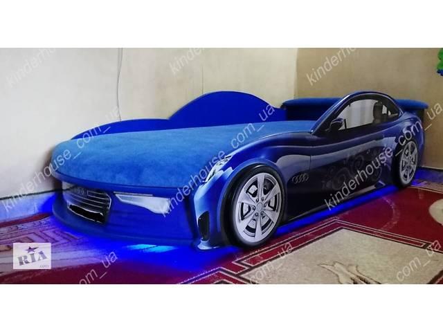Кровать машина АУДИ синяя Номер с именем в подарок!- объявление о продаже  в Львове