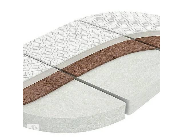 Матрас трансформер 3в1 в круглую \ овальную кроватку- объявление о продаже  в Львове