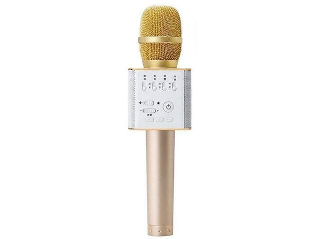 бу Беспроводной микрофон-караоке Bluetooth MicGeek Q9 Karaoke с чехлом Gold (in-61) в Києві