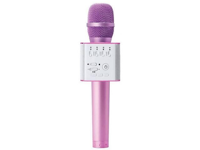 Беспроводной микрофон-караоке Bluetooth MicGeek Q9 Karaoke с чехлом Pink (in-60)- объявление о продаже  в Києві