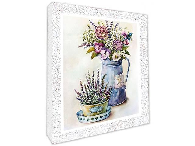 бу Декупаж на полотні Польові квіти 94706 (49007) в Києві