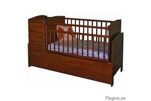 Дерев'яне дитяче ліжко для дитини Під замовлення