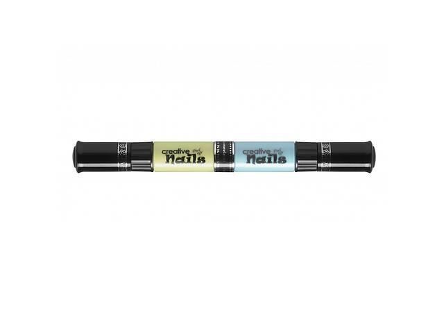 продам Детский лак-карандаш для ногтей Malinos Creative Nails на водной основе 2 цвета Зелёный и Голубой SKL17-223447 бу в Одессе