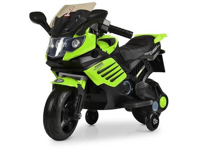 бу Детский мотоцикл BMW M 3582 EL-5, мягкие EVA колеса, зеленый в Одессе