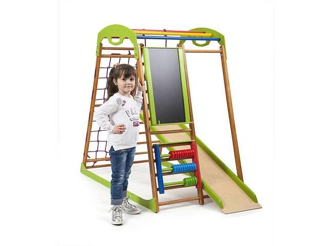 купить бу Детский спортивный комплекс для дома BabyWood Plus  SportBaby в Одессе