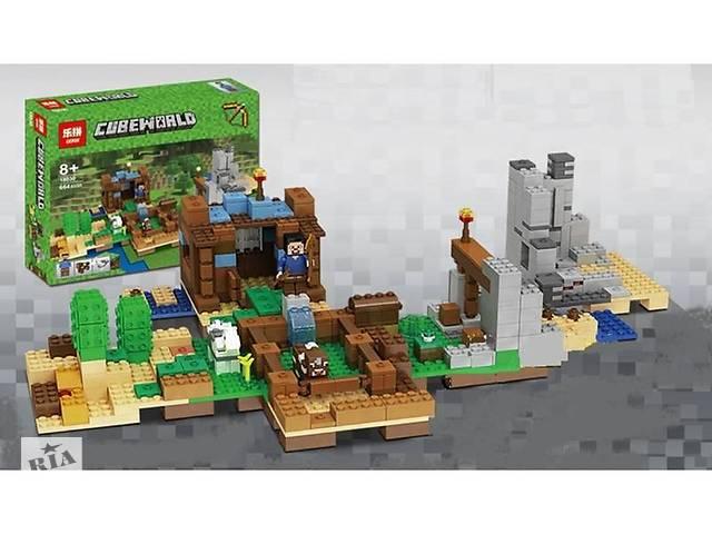 """бу Конструктор Minecraft Lepin 18030 """"Хижина на острове"""" (аналог Lego Майнкрафт, Minecraft), 664 детали Art. all--583033698 в Киеве"""
