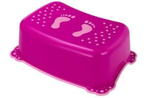 Подставка Maltex Classic 7309 нескользящая  dark pink with dark pink rubbers