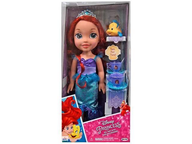 """продам Принцесса Ариэль и Флаундер """"Время чаепития"""" - Ariel, Princess, Flounder, Disney, JAKKS Pacific бу в Одессе"""