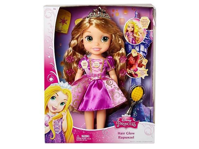 бу Принцесса Рапунцель со светящимися волосами, 38 см - Hair Glow Rapunzel, Disney, Jakks Pacific в Харькове