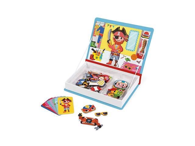 Развивающая игрушка Janod Магнитная книга Наряды для мальчика (J02719)- объявление о продаже  в Киеве