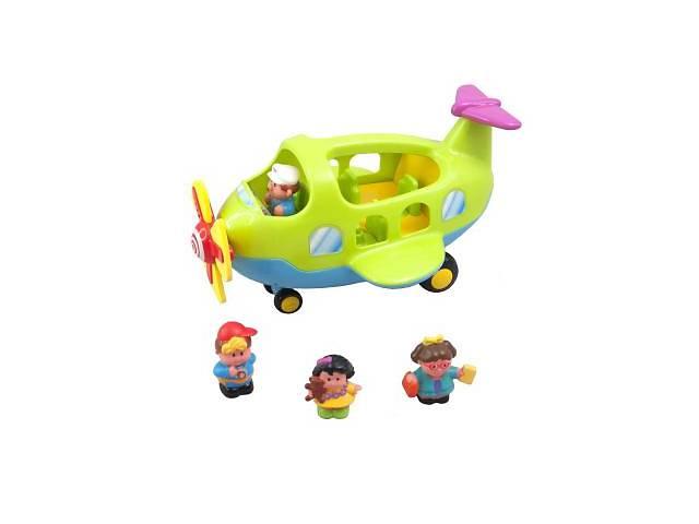 продам Розвиваюча іграшка Kiddieland Самолёт-путешественник (056895) музичні, літак, від 1.5 років, координ бу в Киеве