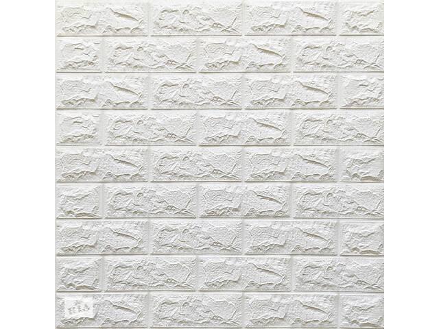 купить бу Самоклеющаяся 3D панель под белую кирпич 700x770x7мм в Одессе