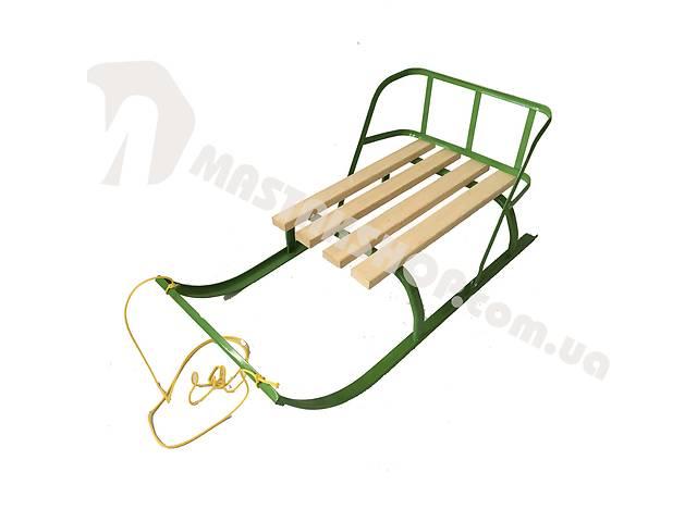 продам Санки детские откидная спинка (веревка в комплекте) бу в Дубно