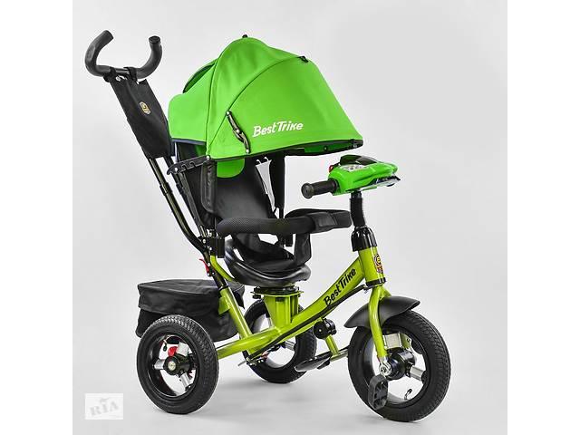 купить бу Велосипед Best Trike 7700 В - 2550 поворотне сидіння, надувні колеса, пульт включення світла та звуку в Києві