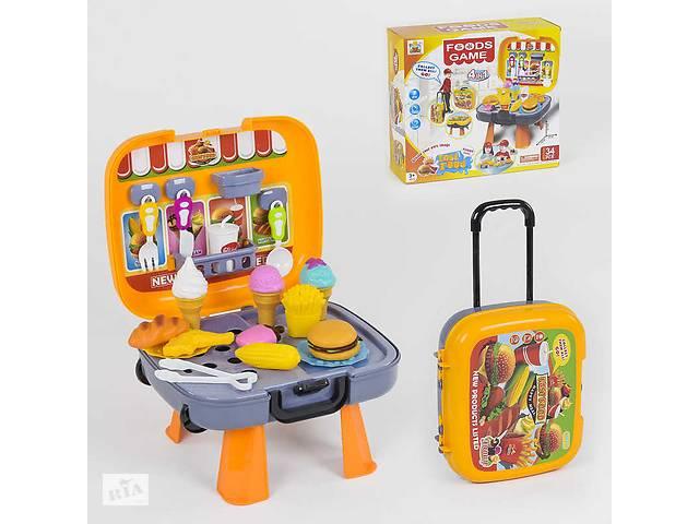 купить бу Игровой набор Фастфуд с чемоданом R182871 в Києві