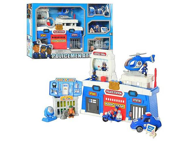 продам Игровой набор Keenway 12635 Полицейский участок бу в Одесі