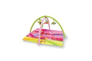 Игровой развивающий коврик LORELLI Fairy tales pink 89x84