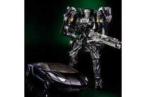 Игрушка робот-трансформер Локдаун, Трансфомеры 4 - Lockdown Devil, TF4, 19СМ, Deformation, KuBian