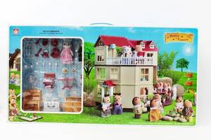 Животные флоксовые Happy Family 012-10