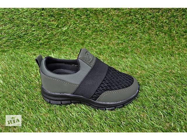 купить бу Детские кроссовки Nike callion сетка хаки черный 26 -30 в Южноукраинске