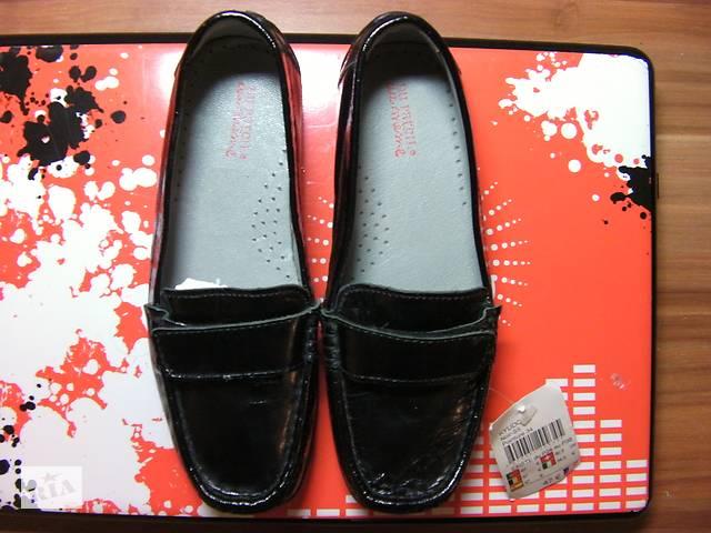 Распродажа: Новые Кожаные Туфли-Мокасины для Девочки DPAM (Du Pareil au meme) Чёрные 34 Размер Стелька 21.5см- объявление о продаже  в Киеве