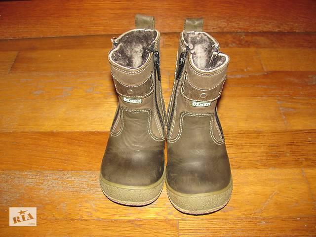 бу Шкіряні турецькі дитячі зимові чобітки d3fc844111aea