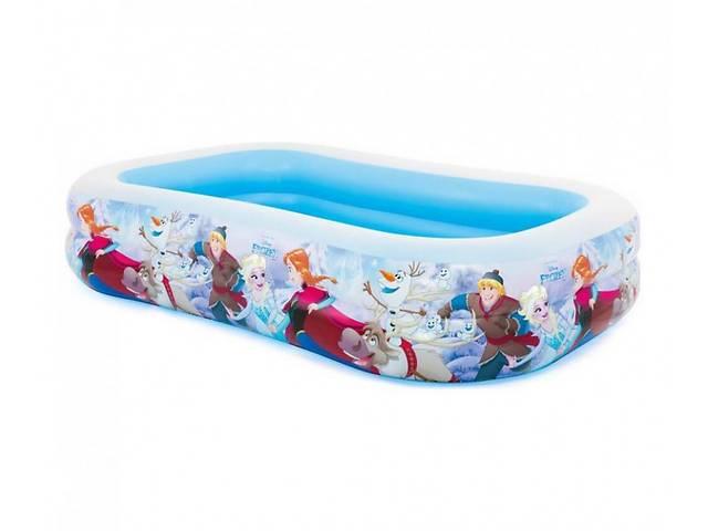 купить бу Детский надувной, прямоугольный бассейн из винила Intex 58469 NP Холодное Сердце (объём 796 л) в Львове