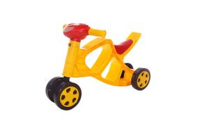 Беговел Doloni Мотоцикл музыкальный Разноцветный 55 х 45 х 31 см (0137/03-RT)
